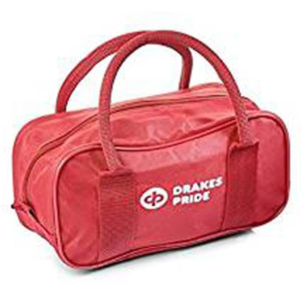 Drakes Pride 2 Bowl Bag Maroon Red