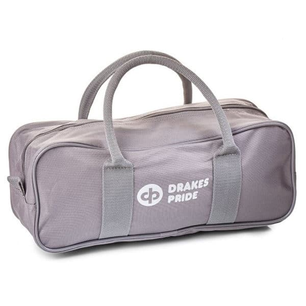 Drakes Pride 2 Bowl & Jack Zipped Bag Grey
