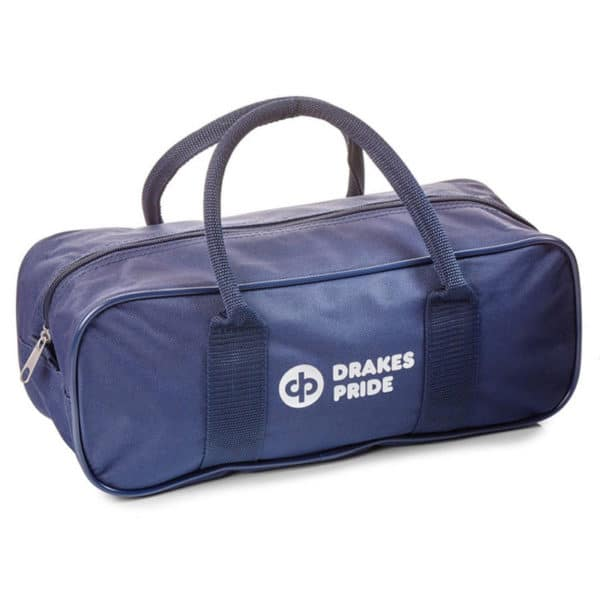 Drakes Pride 2 Bowl Jack Zipped Bag Navy