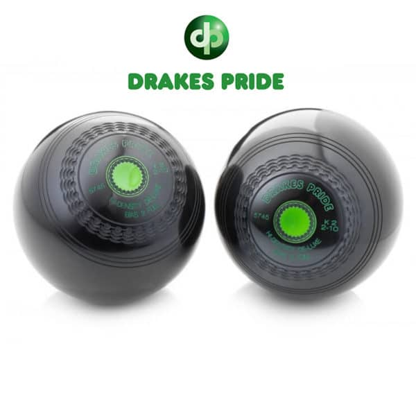 Drakes Pride Deluxe High Density Bowls Black