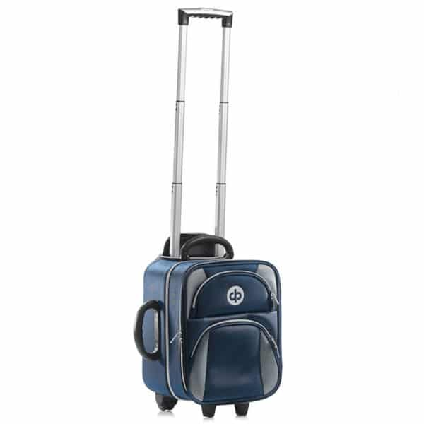 Drakes Pride Locker Trolley Bag Navy Front