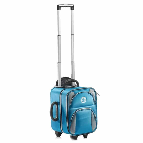 Drakes Pride Locker Trolley Bag Petrol Front