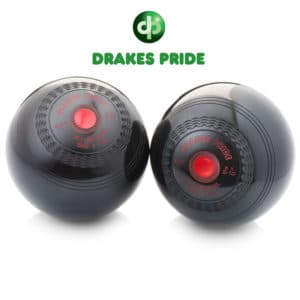 Drakes Pride Standard Density Deluxe Bowls Black Red Mount