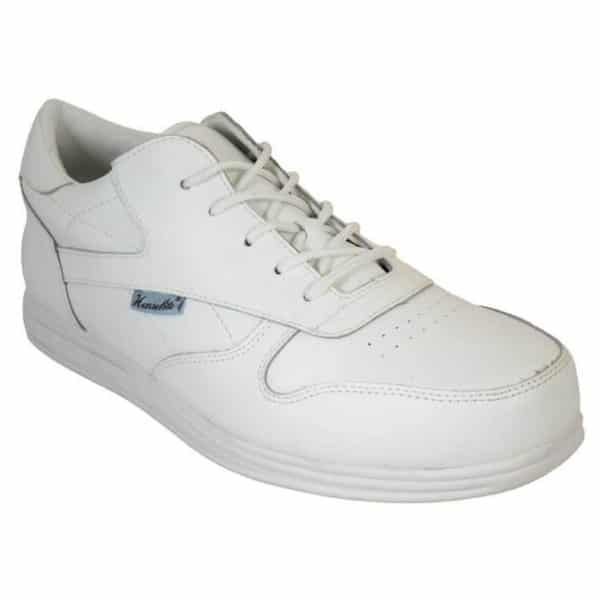 Henselite Victory Sport Mens Bowls Trainers White