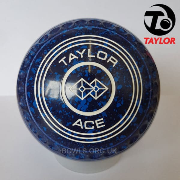 Taylor Ace Progrip Coloured Bowls Dark Blue TwoSquare