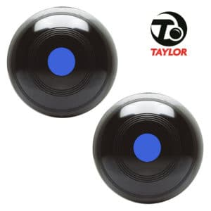 Taylor Elite Standard Density Bowls Black Blue Mount