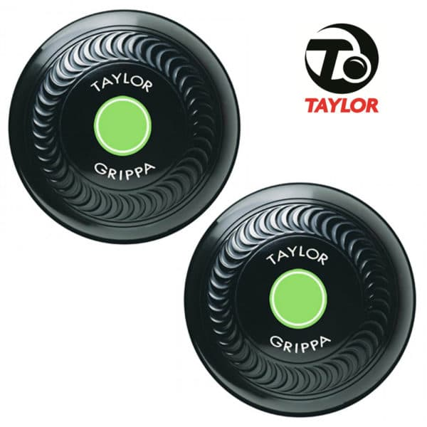 Taylor Grippa High Density Bowls Black Green Mount