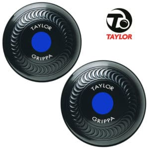 Taylor Grippa Standard Density Bowls Black Blue Mount