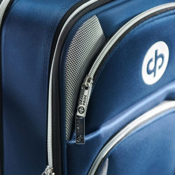 drakes pride bowls locker trolley bag close up