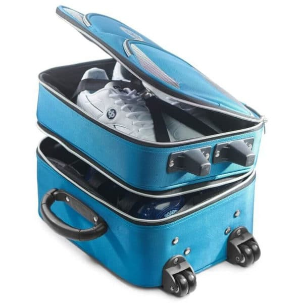 drakes pride bowls locker trolley bag unzipped