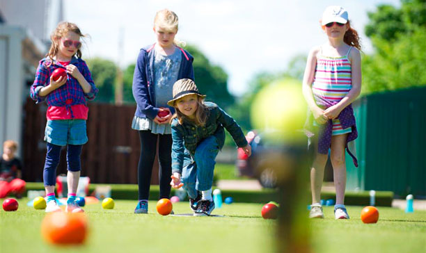 junior lawn bowls